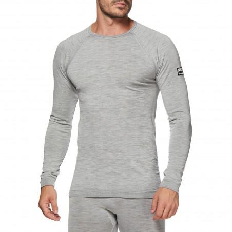 Camiseta interior ciclismo y moto de lana Merino TS2