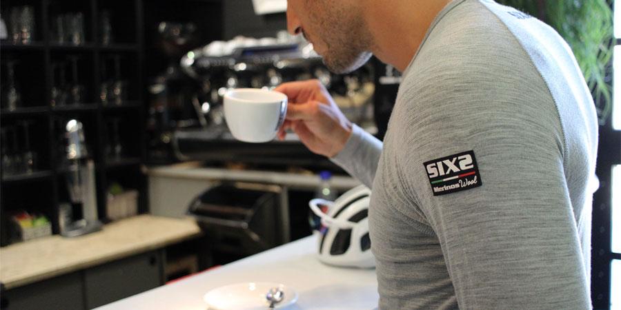 Camiseta interior ciclismo con lana merino Sixs