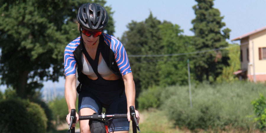 Culotte ciclismo para mujer Sixs